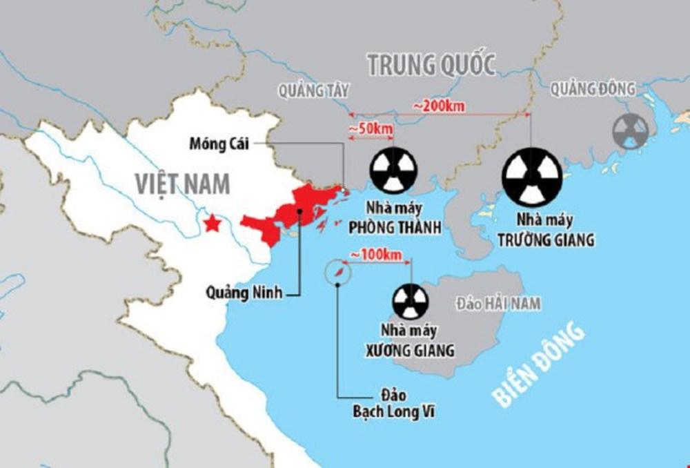 3 nhà máy điện hạt nhân Trung Quốc nằm gần biên giới Việt Nam đi vào hoạt động - Ảnh 1.