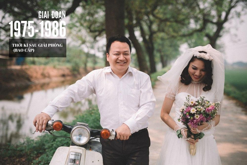 Bộ ảnh 100 năm đám cưới Việt Nam khiến người xem vừa lạ vừa quen - Ảnh 7.