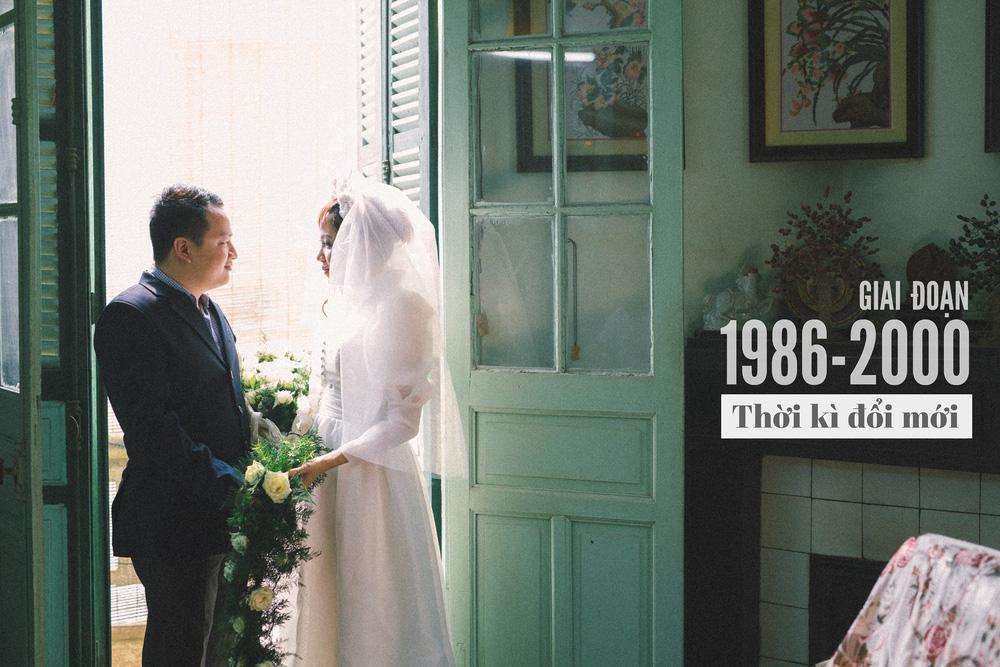 Bộ ảnh 100 năm đám cưới Việt Nam khiến người xem vừa lạ vừa quen - Ảnh 9.