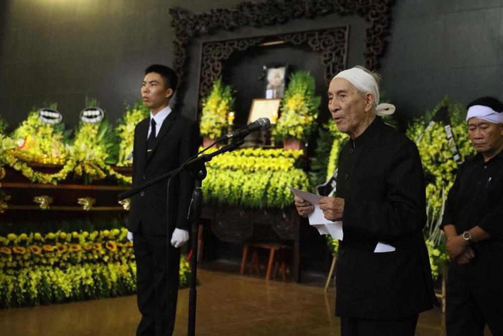 Tang lễ cụ Hoàng Thị Minh Hồ: Trưởng nam công khai di nguyện của cụ bà trước khi mất - Ảnh 5.