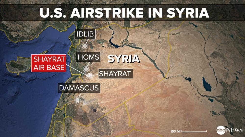 Trump phát động tấn công, phóng 59 tên lửa Tomahawk vào quân chính phủ Syria - Ảnh 1.