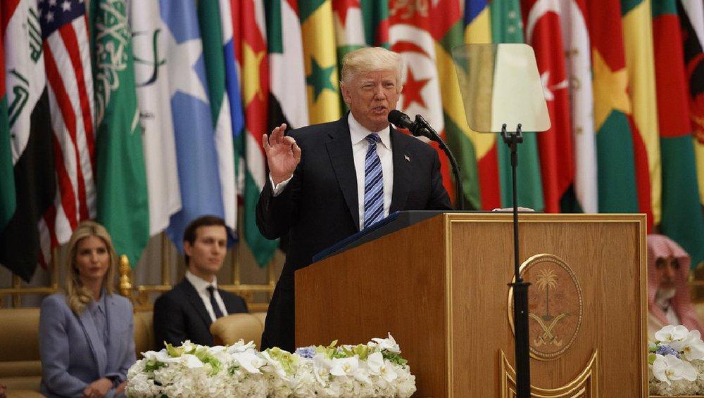 Toàn văn bài diễn thuyết lay động thế giới Hồi giáo của ông Trump tại Saudi Arabia - Ảnh 1.
