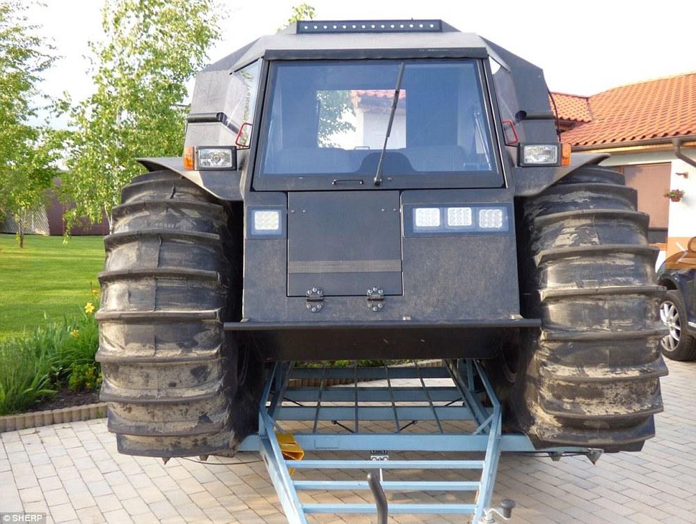 Sherp ATV - Quái vật tí hon có thể vượt mọi địa hình đến từ nước Nga - Ảnh 6.