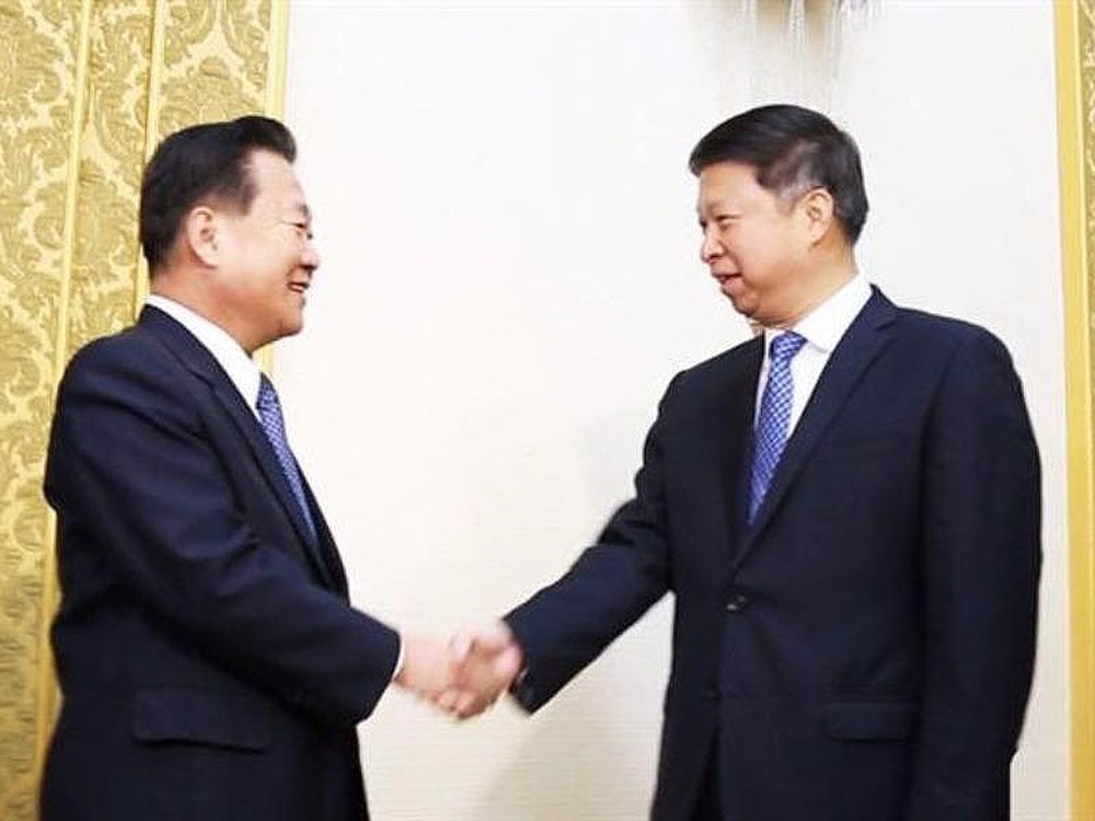 Phái đoàn Trung Quốc kín tiếng sau khi rời Triều Tiên - Ảnh 1.