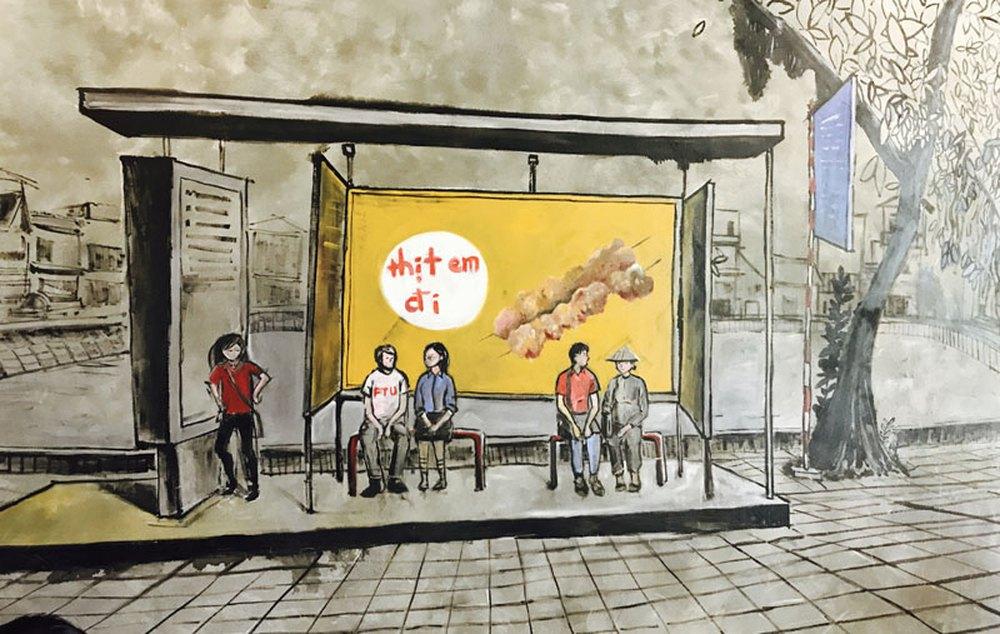 Hợp tác xã thịt xiên nướng phục vụ nhân dân 80kg thịt/ngày - Ảnh 6.