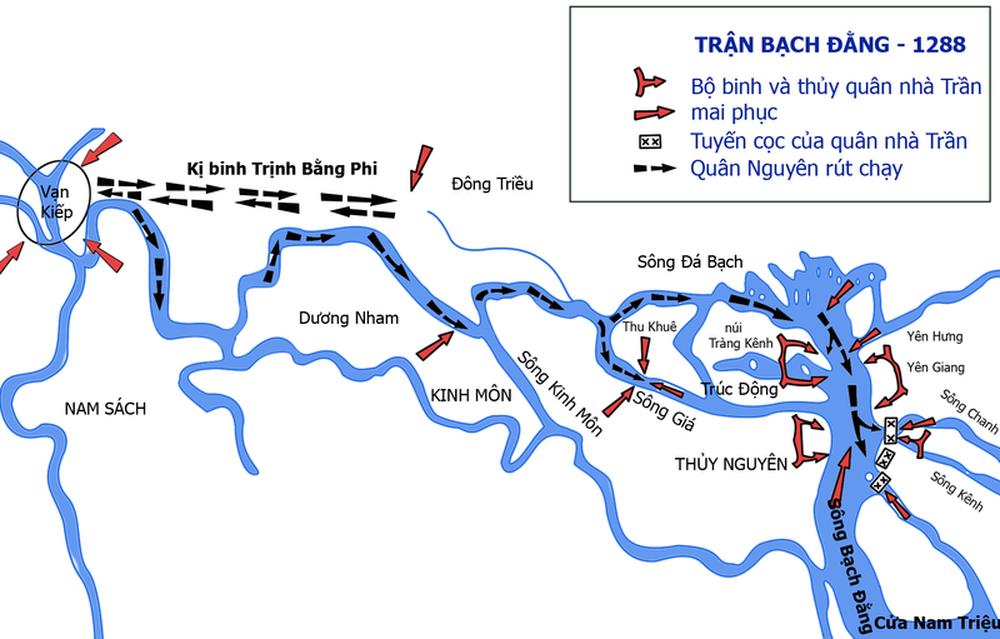 Trận thủy chiến lớn nhất trong lịch sử Việt Nam: Muôn dặm thuyền bè, tinh kỳ phấp phới - Ảnh 3.