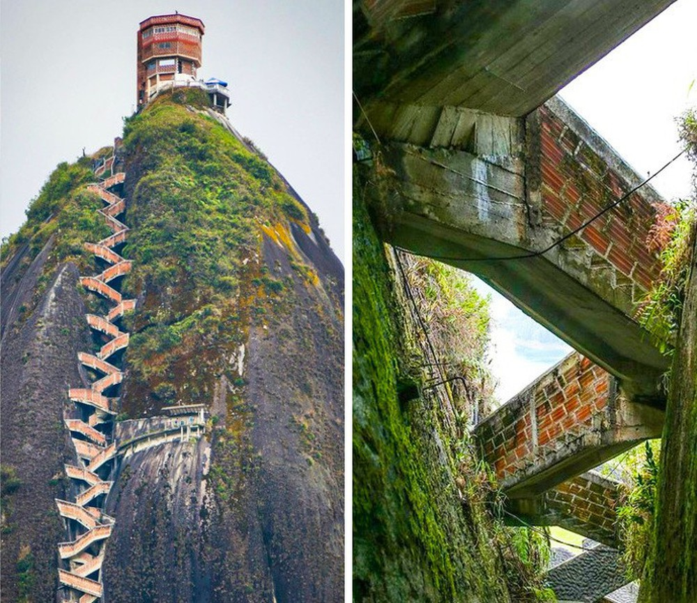 16 cầu thang đáng sợ nhất trên thế giới mà ai nhìn thấy cũng phải bủn rủn chân tay - Ảnh 2.