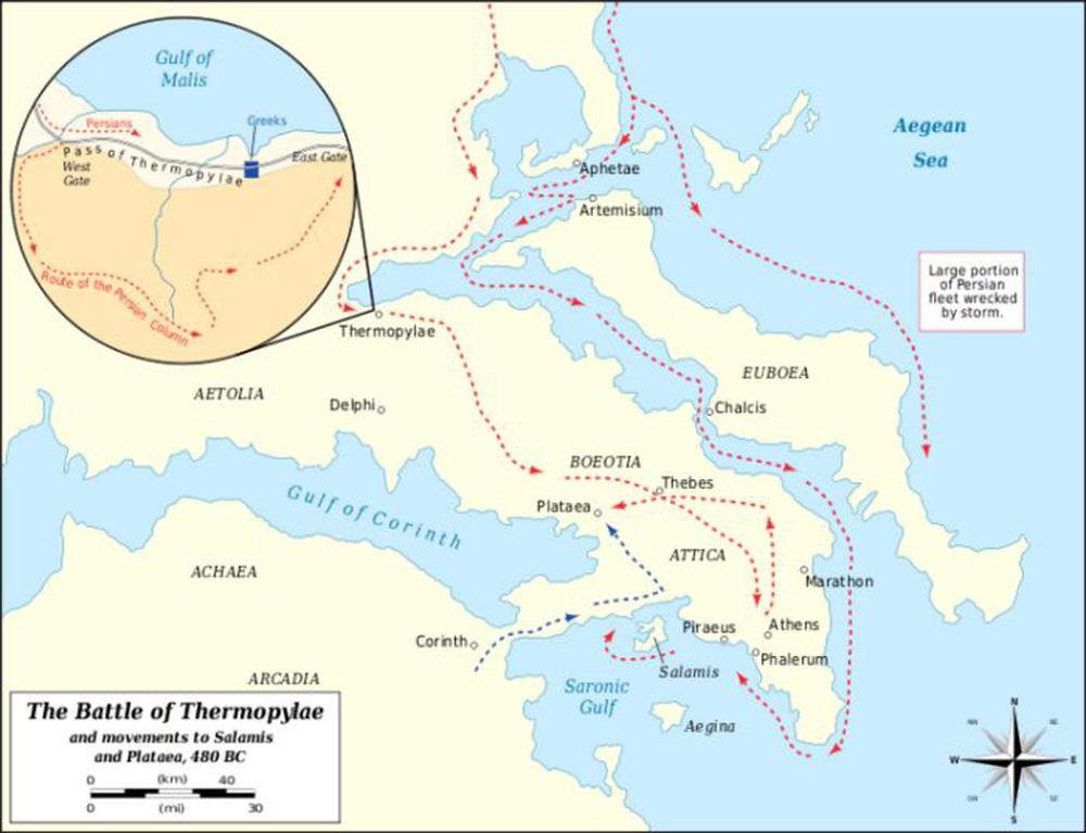 Sparta, huyền thoại vua Leonidas và những anh hùng của trận Thermopylae - Ảnh 5.
