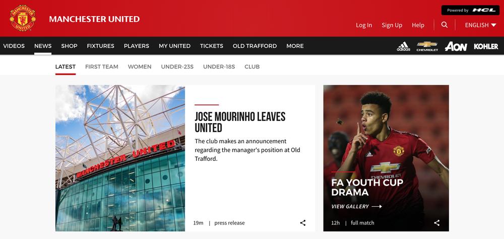 CHÍNH THỨC: Man United sa thải Mourinho, Carrick tạm nắm Quỷ đỏ - Ảnh 2.