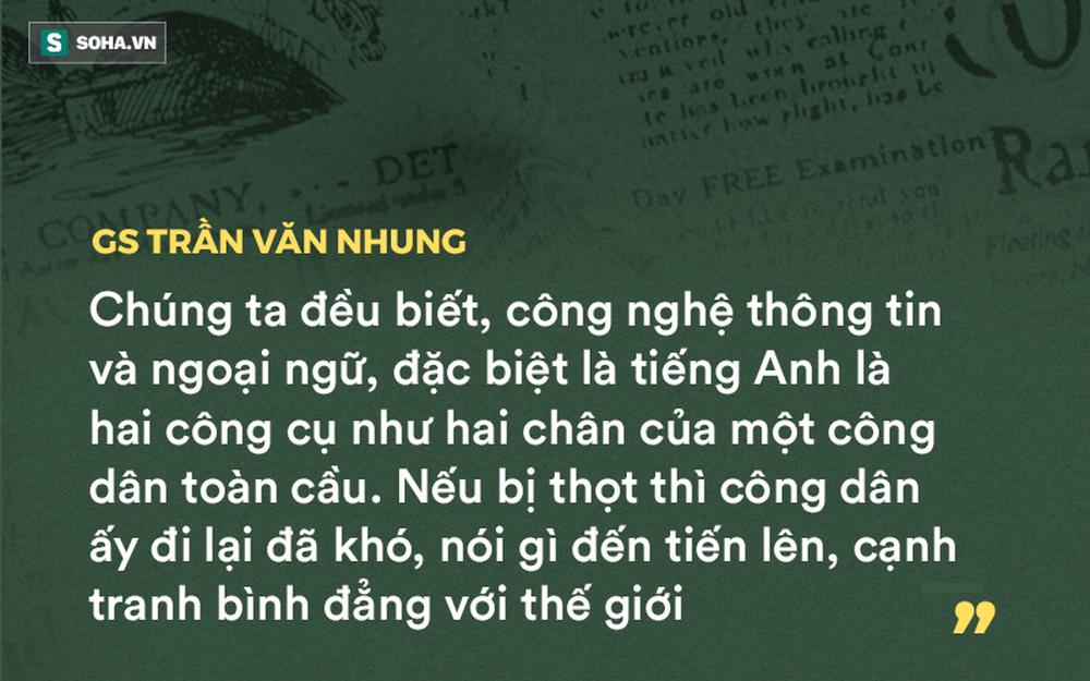 GS Nguyễn Tiến Dũng: Tôi đoán nhiều GS, TS ở Việt Nam rất sợ sát hạch tiếng Anh - Ảnh 1.