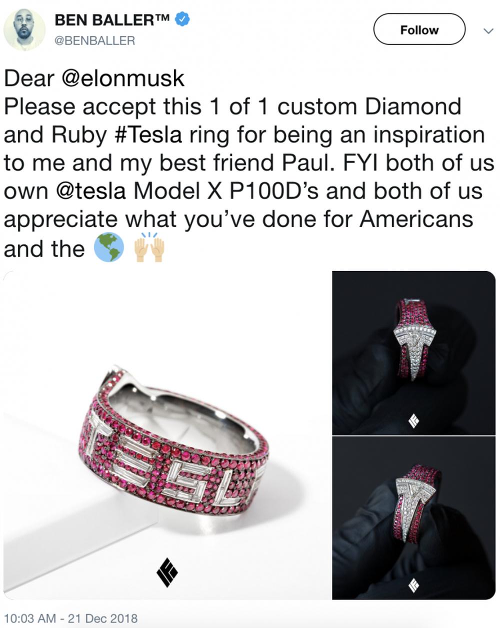 Tỷ phú xe điện Elon Musk bất ngờ được tặng quà giáng sinh cực độc có giá lên tới 930 triệu đồng - Ảnh 1.