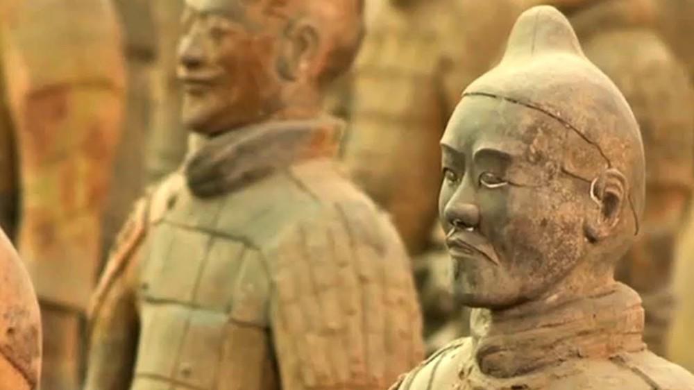 Bí mật lăng mộ Tần Thủy Hoàng: Cả trăm binh sĩ đất nung được đi spa suốt 2000 năm - Ảnh 8.