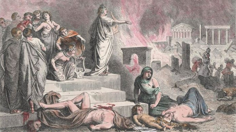 Tác phẩm để đời của tên bạo chúa tàn ác nhất lịch sử, giết cả mẹ lẫn 2 người vợ - Ảnh 1.