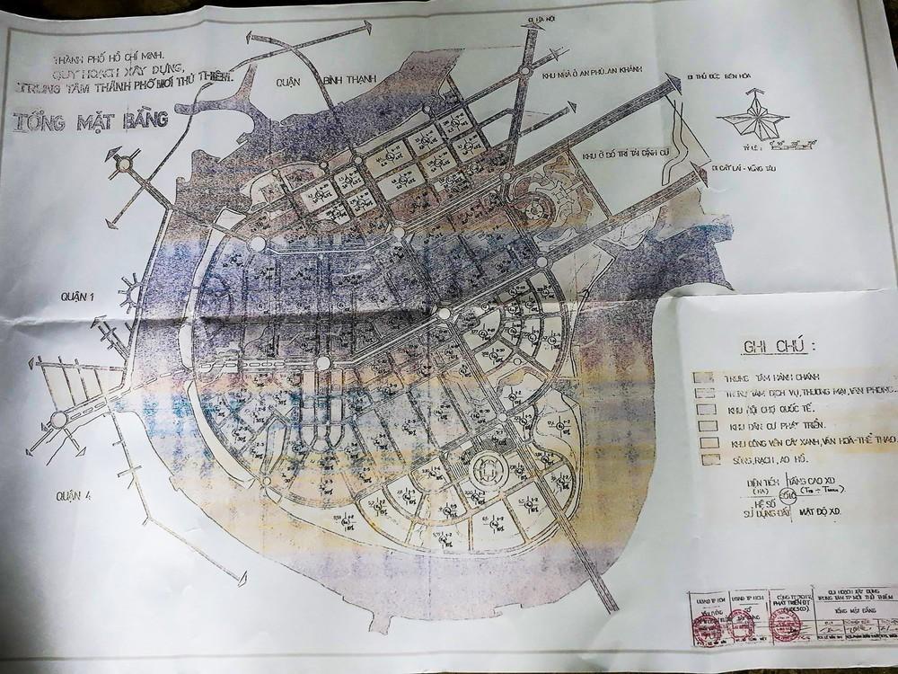 Cựu Phó chủ tịch TP.HCM Nguyễn Văn Đua nói về bản đồ Thủ Thiêm: Không thể nói theo trí nhớ, việc này là đại sự - Ảnh 3.