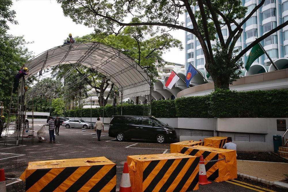 Singapore tất bật lập chốt an ninh, phân luồng giao thông trước thượng đỉnh Mỹ - Triều - Ảnh 11.