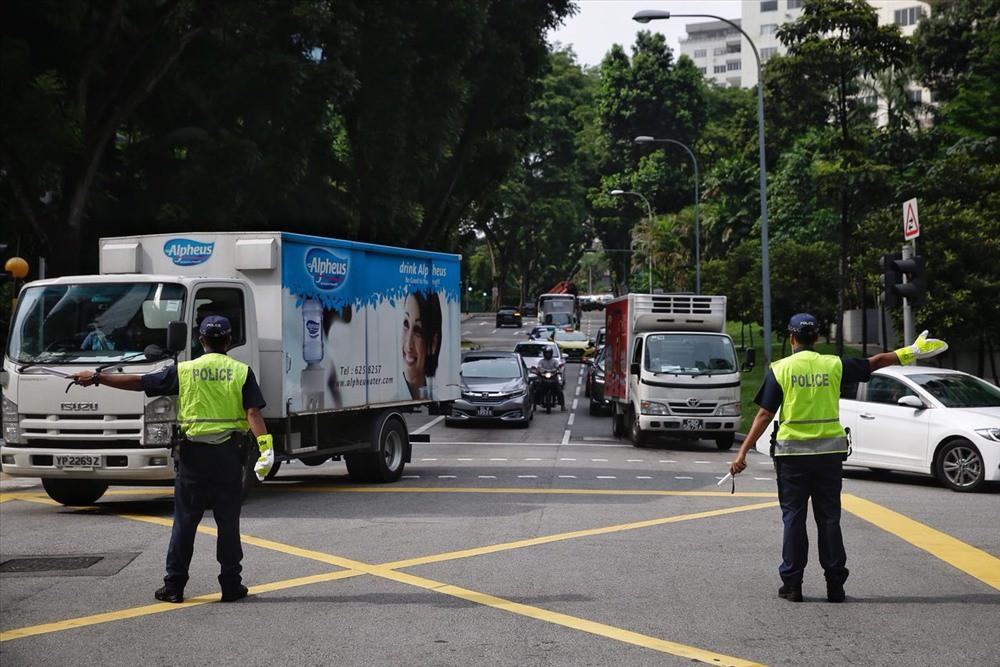 Singapore tất bật lập chốt an ninh, phân luồng giao thông trước thượng đỉnh Mỹ - Triều - Ảnh 7.