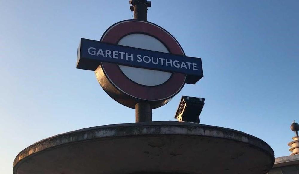 Ga tàu điện ngầm ở London đổi tên thành Gareth Southgate - Ảnh 1.