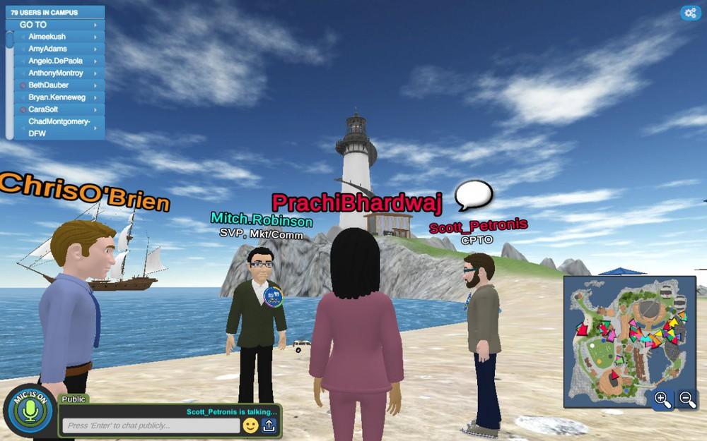 Không cần văn phòng, một công ty cho cả 8.000 nhân viên làm việc trên một hòn đảo ảo - Ảnh 9.