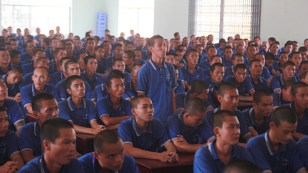 Học viên cai nghiện ở Tiền Giang: Đi làm về mệt mỏi, xếp màn không ngay cũng bị đánh - Ảnh 2.
