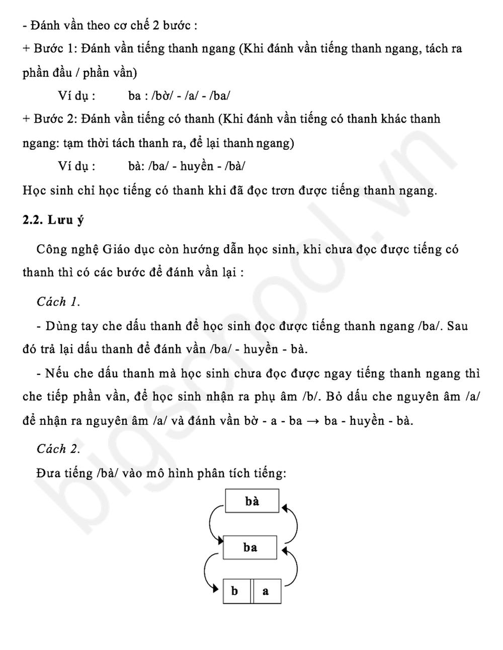 Đánh vần Tiếng Việt theo sách Công nghệ giáo dục như thế nào? - Ảnh 4.