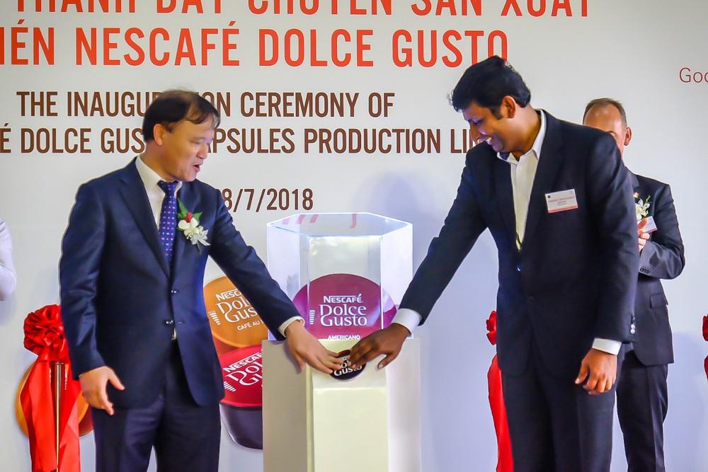 Nestlé nâng cao giá trị hạt cà phê Việt với dây chuyền sản xuất viên nén Nescafé Dolce Gusto - Ảnh 3.