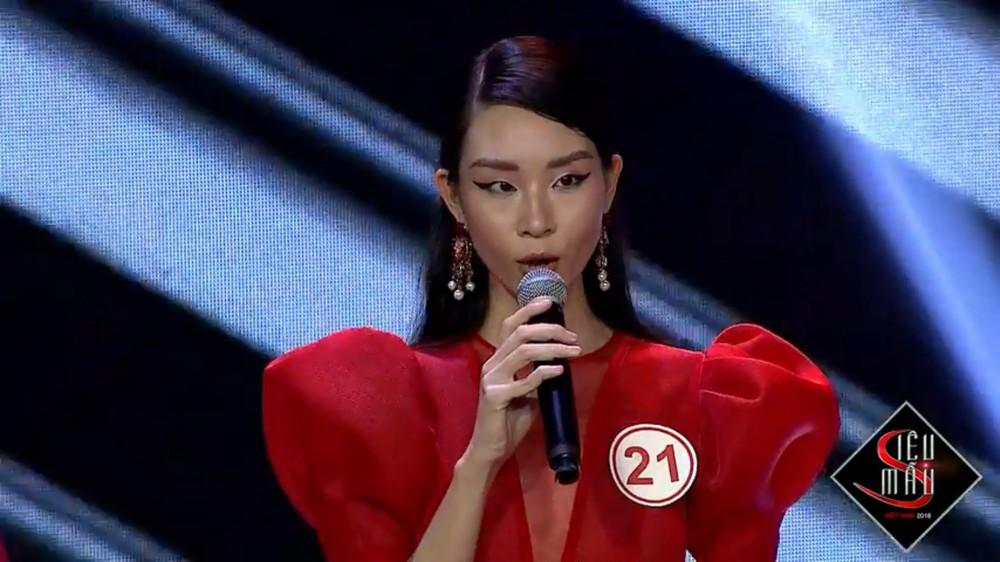 Bật cười trước màn trả lời ứng xử ngô nghê của thí sinh Siêu mẫu Việt Nam - Ảnh 9.