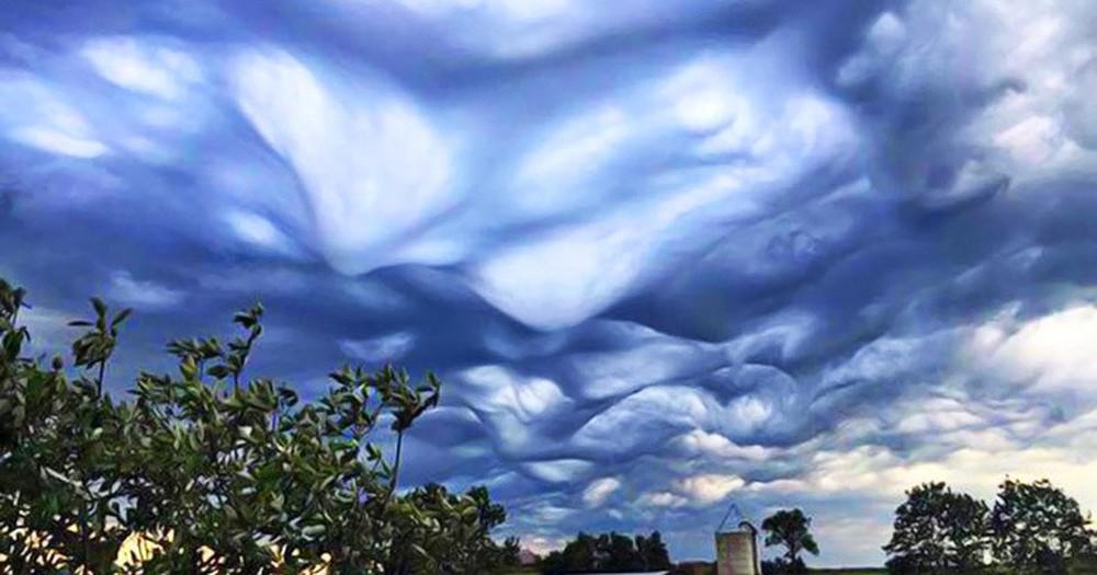 Những đám mây kỳ quặc có thể bạn không tin vào mắt mình - Ảnh 10.