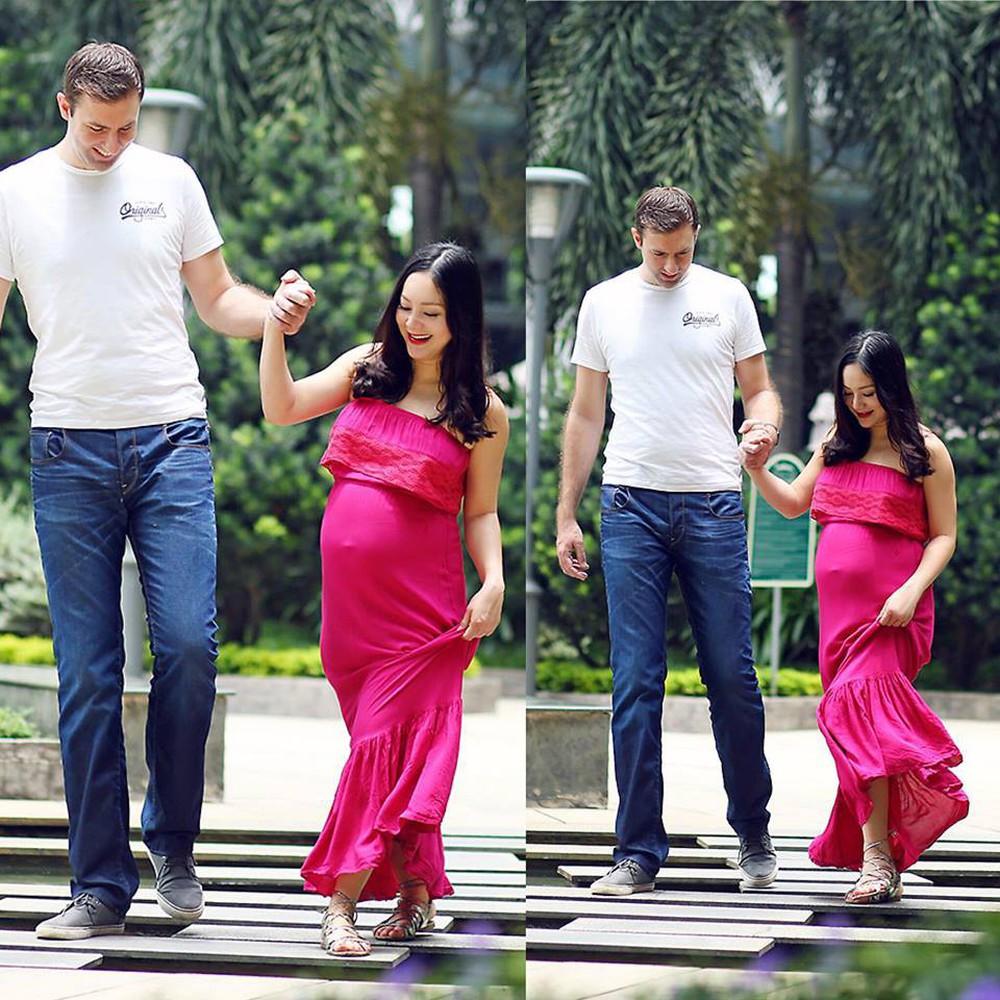 Hạnh phúc ngọt ngào bên chồng Tây cao 2m và con gái đáng yêu của Diệu phim Cả một đời ân oán - Ảnh 1.