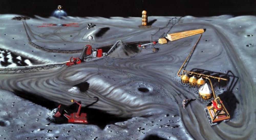 Ráo riết thăm dò Mặt Trăng, Trung Quốc độc chiếm kho báu đắt gấp 300 lần vàng? - Ảnh 2.