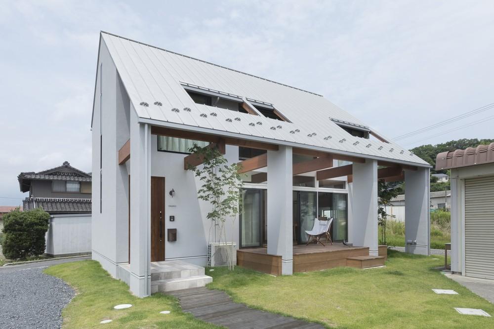 Ngôi nhà cấp 4 ở Nhật có mái hiên rộng để che nắng mưa, cảm nhận vị ấm của hạnh phúc gia đình - Ảnh 4.