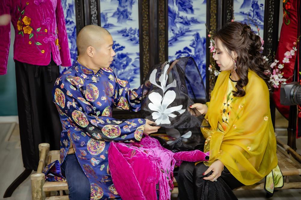 Quốc Khánh chăm chút cho cô Đẩu Công Lý  - Ảnh 6.