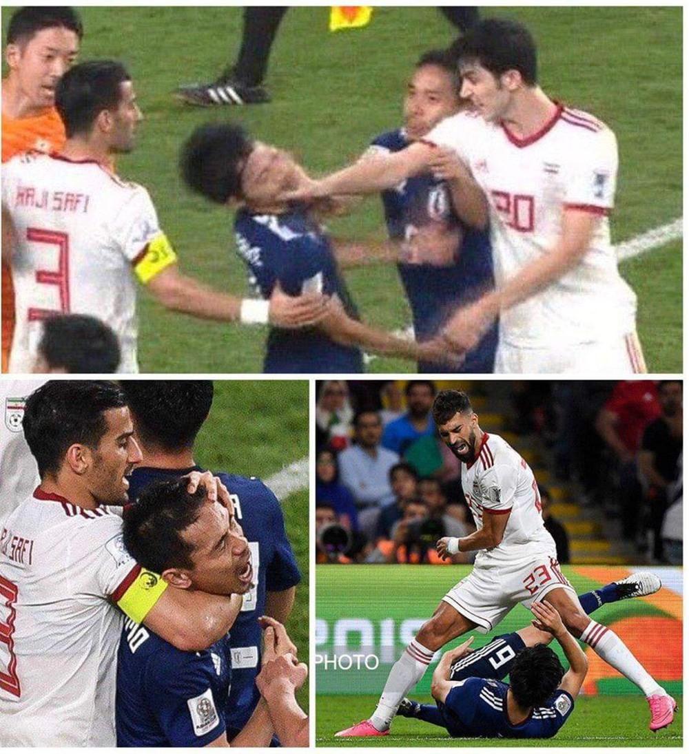 Cầu thủ Nhật tiết lộ chuyện chạm mặt đối thủ Iran trong thang máy sau xô xát trên sân cỏ - Ảnh 1.