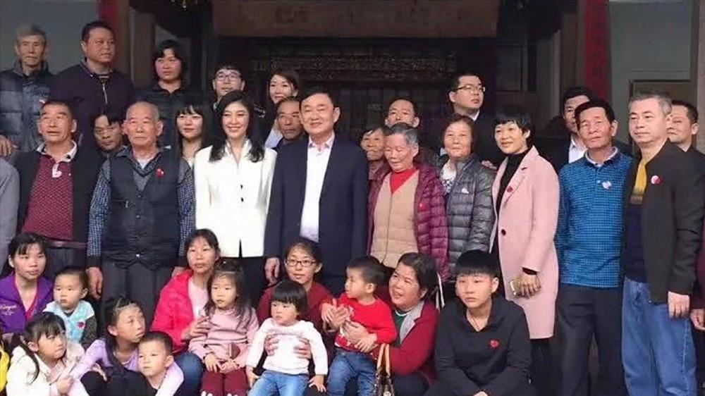 Anh em cựu Thủ tướng Thái Thaksin đến Trung Quốc để tìm nguồn cội - Ảnh 1.
