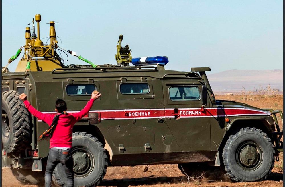 Đồ chơi bảo vệ TT Putin tới Syria giúp Quân cảnh Nga đả bại phiến quân: Lá chắn bí mật - Ảnh 4.