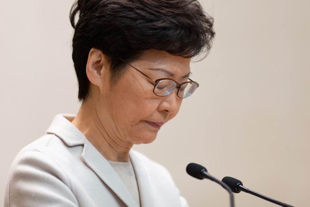 Bà Carrie Lam phát biểu sau thất bại của phe thân Bắc Kinh: Trung ương không hề truy cứu trách nhiệm - Ảnh 1.