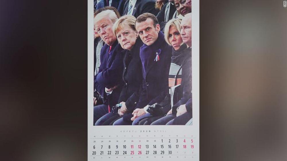 Bộ lịch TT Putin năm 2020 có thay đổi bất ngờ, TT Trump được ưu ái xuất hiện không chỉ 1 lần - Ảnh 4.