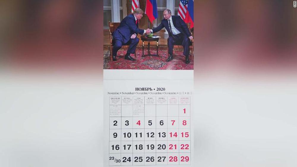 Bộ lịch TT Putin năm 2020 có thay đổi bất ngờ, TT Trump được ưu ái xuất hiện không chỉ 1 lần - Ảnh 5.