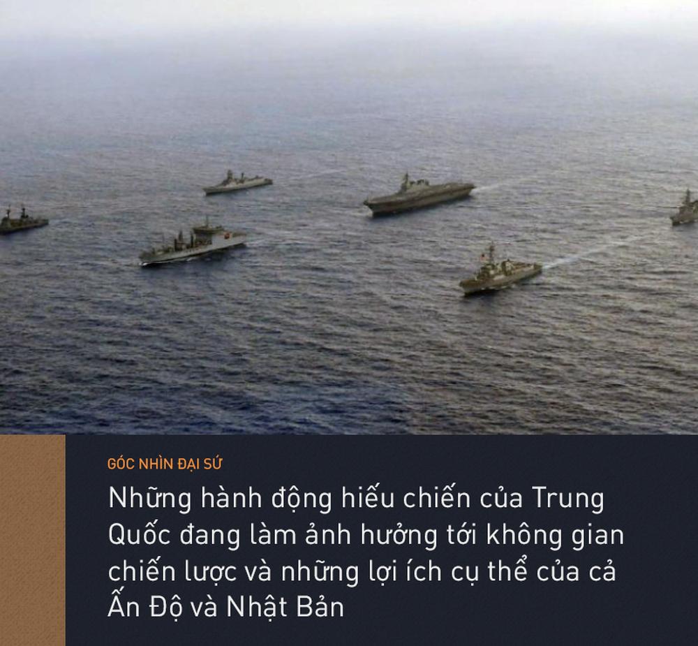 Mỹ vướng bận nội bộ, Ấn - Nhật trở thành mỏ neo chốt chặn Thái Bình Dương, Ấn Độ Dương - Ảnh 2.