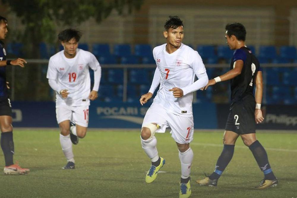 Tái hiện sai lầm của Tiến Dũng, U22 Myanmar báo tin vui cho thầy trò HLV Park Hang-seo - Ảnh 2.
