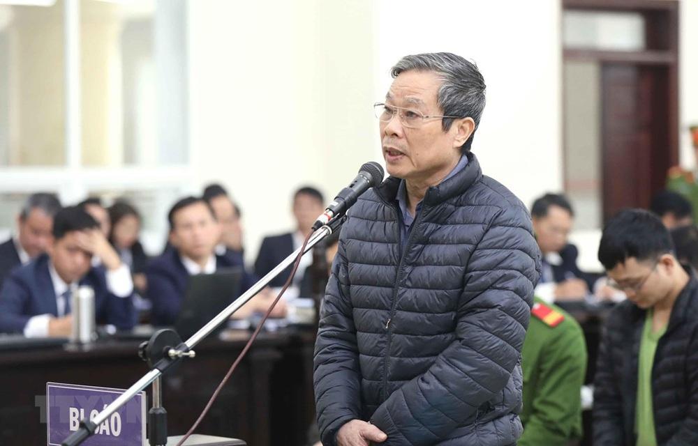 Vì sao cựu Bộ trưởng Nguyễn Bắc Son cùng 2 bị cáo xin khoan hồng cho bị cáo Phạm Nhật Vũ? - Ảnh 3.