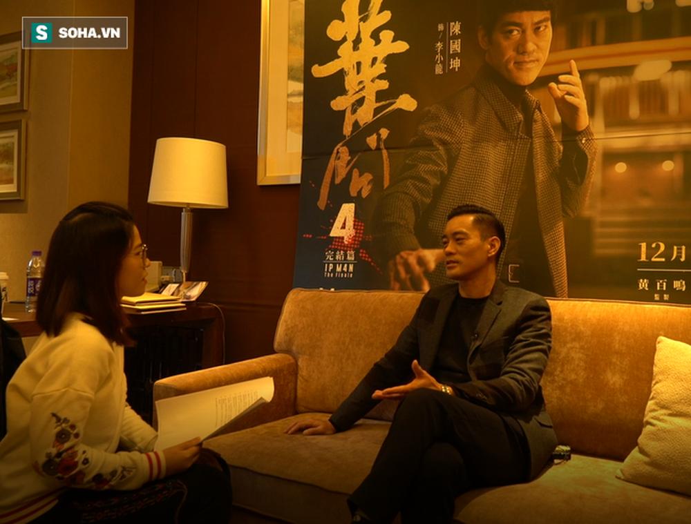 Phỏng vấn độc quyền sao Diệp Vấn: Có thể đóng Lý Tiểu Long tới 80 tuổi, tiết lộ bí mật về Châu Tinh Trì - Ảnh 5.