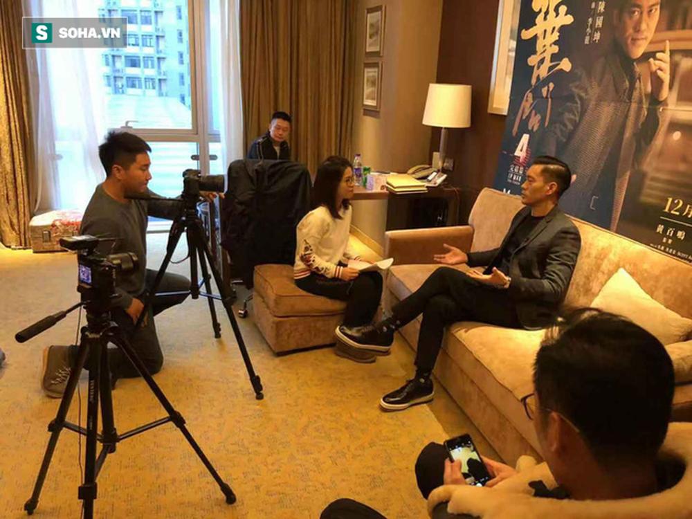 Phỏng vấn độc quyền sao Diệp Vấn: Có thể đóng Lý Tiểu Long tới 80 tuổi, tiết lộ bí mật về Châu Tinh Trì - Ảnh 3.
