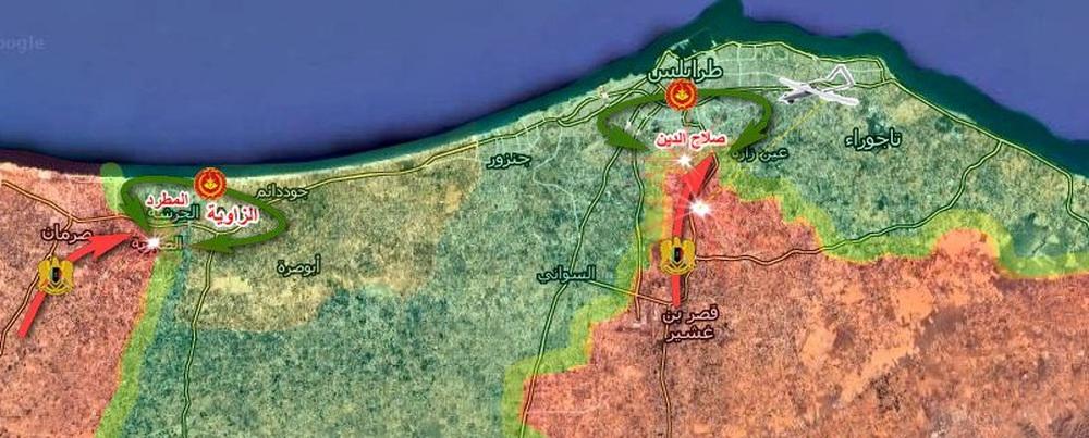 CẬP NHẬT: Không vận thành công 250 phiến quân Syria tới Libya, F-16 Thổ đánh rắn dập đầu một loạt căn cứ của LNA? - Ảnh 15.