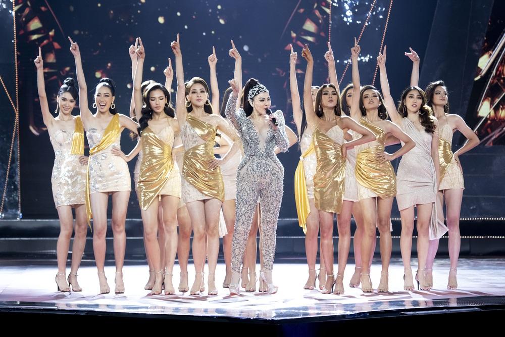 Thu Minh phấn khích khi đoán đúng Hoa hậu Hoàn vũ Việt Nam - Ảnh 5.
