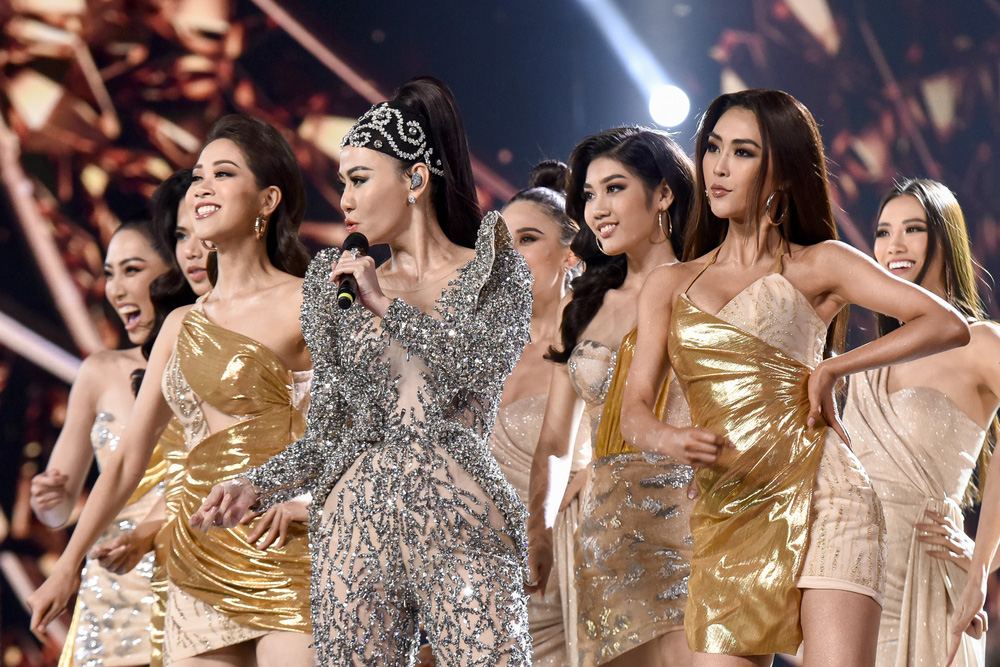 Thu Minh phấn khích khi đoán đúng Hoa hậu Hoàn vũ Việt Nam - Ảnh 6.