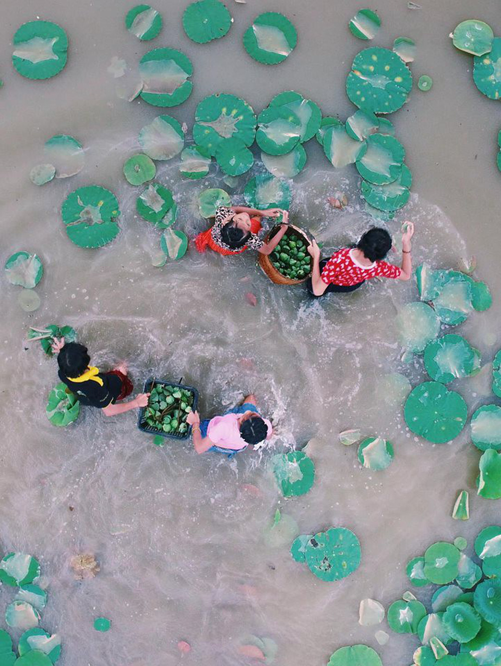 Ảnh độc: Có một Thái Lan bình yên và hút hồn đến bất ngờ khi nhìn từ trên cao - Ảnh 15.