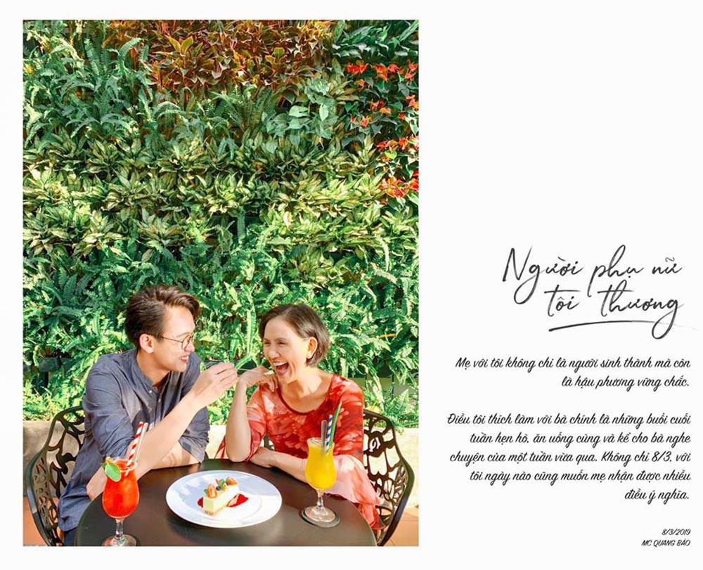 Đăng Khôi nấu ăn cho vợ, Quang Bảo ga lăng hết cỡ với H'Hen Niê trong ngày 8/3 - Ảnh 2.