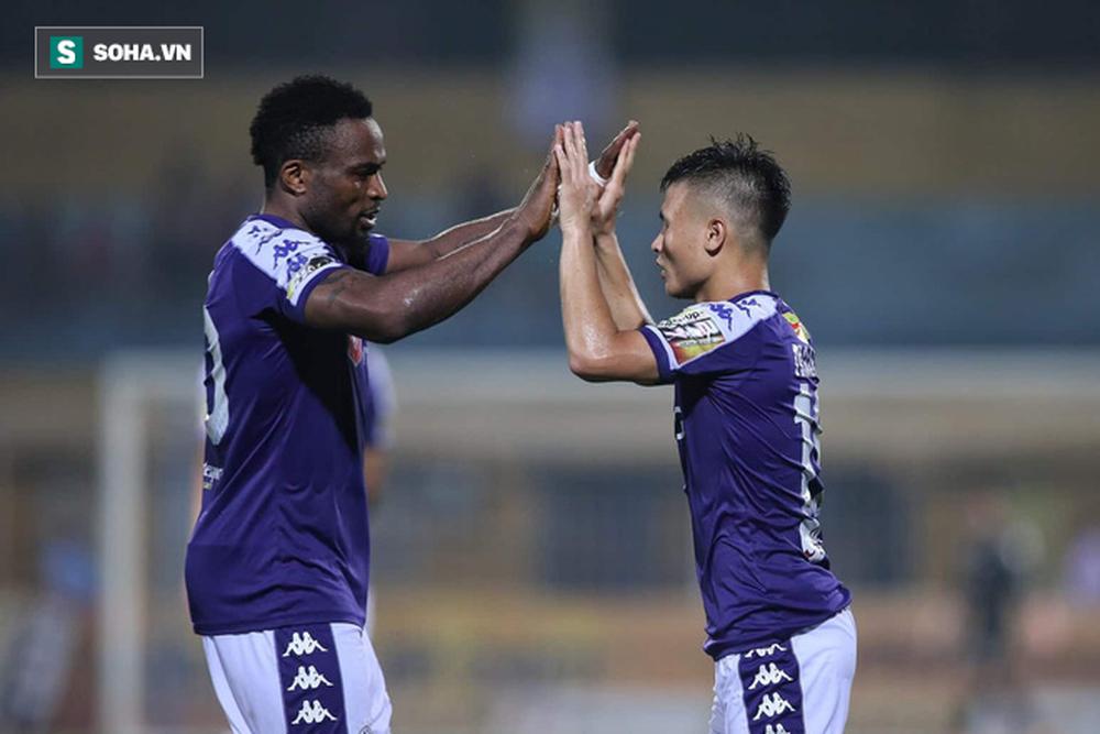 Ngược dòng đầy bản lĩnh, Hà Nội FC đánh bại Hải Phòng trong trận cầu nghẹt thở - Ảnh 4.