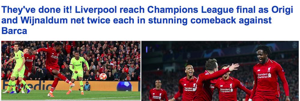 Báo chí thế giới ngả mũ thán phục, hết lời ca ngợi màn ngược dòng thần thánh của Liverpool - Ảnh 4.