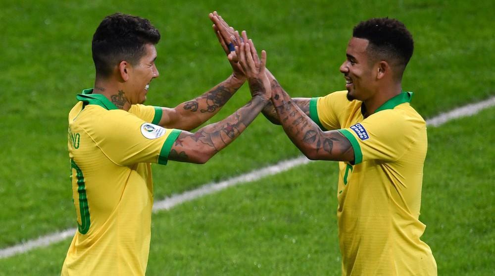 Gục ngã dưới chân Brazil, Argentina cúi đầu rời Copa America - Ảnh 1.